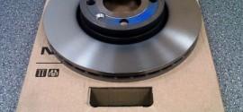 Диск тормозной передний Nissan Note (2005-2013)